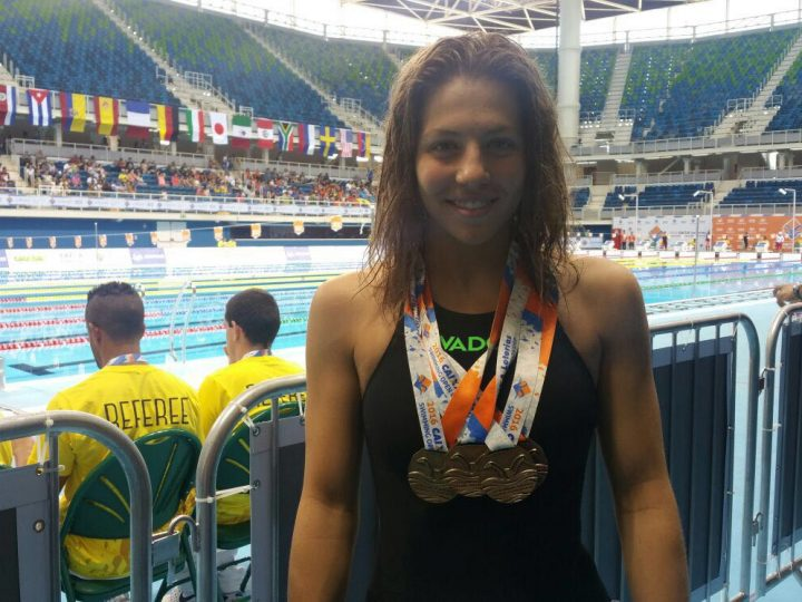 4 medallas en el test de Rio